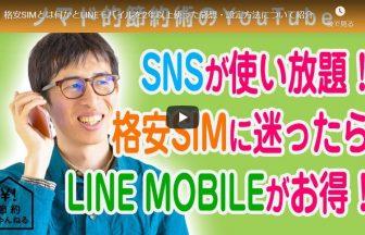 格安SIMとは何かとLINEモバイルを2年以上使った感想・設定方法について紹介